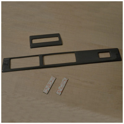 Inserti cruscotto in carbonio per Opel Speedster e Vauxhall VX220 | Eltech Italia