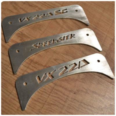 Cover scarico in alluminio per Opel Speedster e Vauxhall VX220 | Eltech Italia