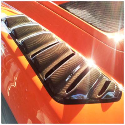 Prese passaruota in carbonio per Opel Speedster e Vauxhall VX220 | Eltech Italia