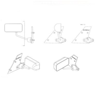 Specchietti formula per Opel Speedster e Vauxhall VX220 | Eltech Italia